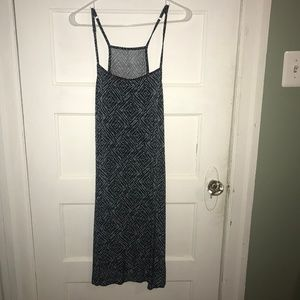 West Loop Blue Patterned Cami Mini Dress - 3/$20